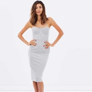 NEW Airlie Suede Abbey bodycon dress revolve